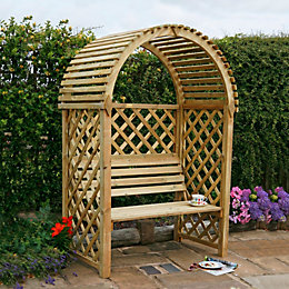 Chiltern Wooden Arbour with Assembly Service