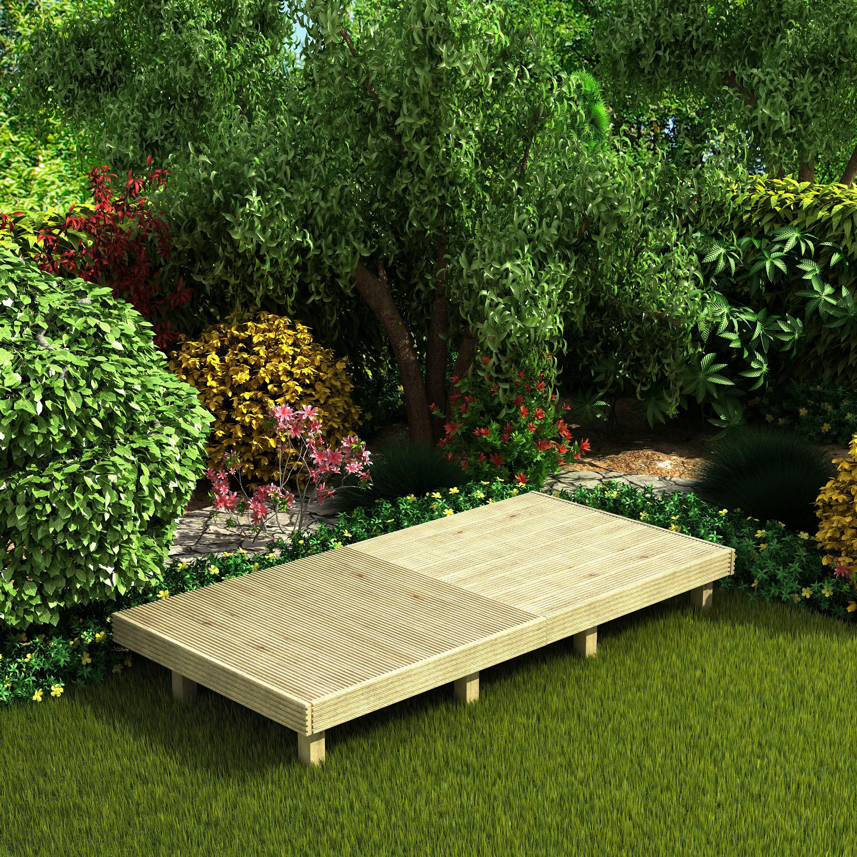 Deck Easy Build Softwood Modular Deck System
