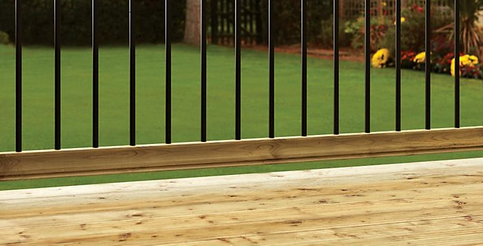 Decking railing kit