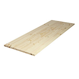 Diall Spruce Furniture Board (L)2350mm (W)300mm (T)18mm