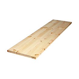 Diall Spruce Furniture Board (L)1750mm (W)200mm (T)22mm
