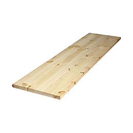 Diall Spruce Furniture Board (L)1750mm (W)400mm (T)22mm