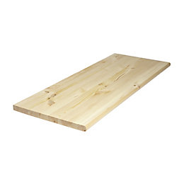 Diall Spruce Furniture Board (L)1000mm (W)400mm (T)28mm