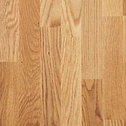 Diall Oak Furniture Board (L)2350mm (W)400mm (T)18mm