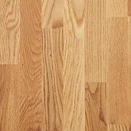 Diall Oak Furniture Board (L)2350mm (W)400mm (T)18mm