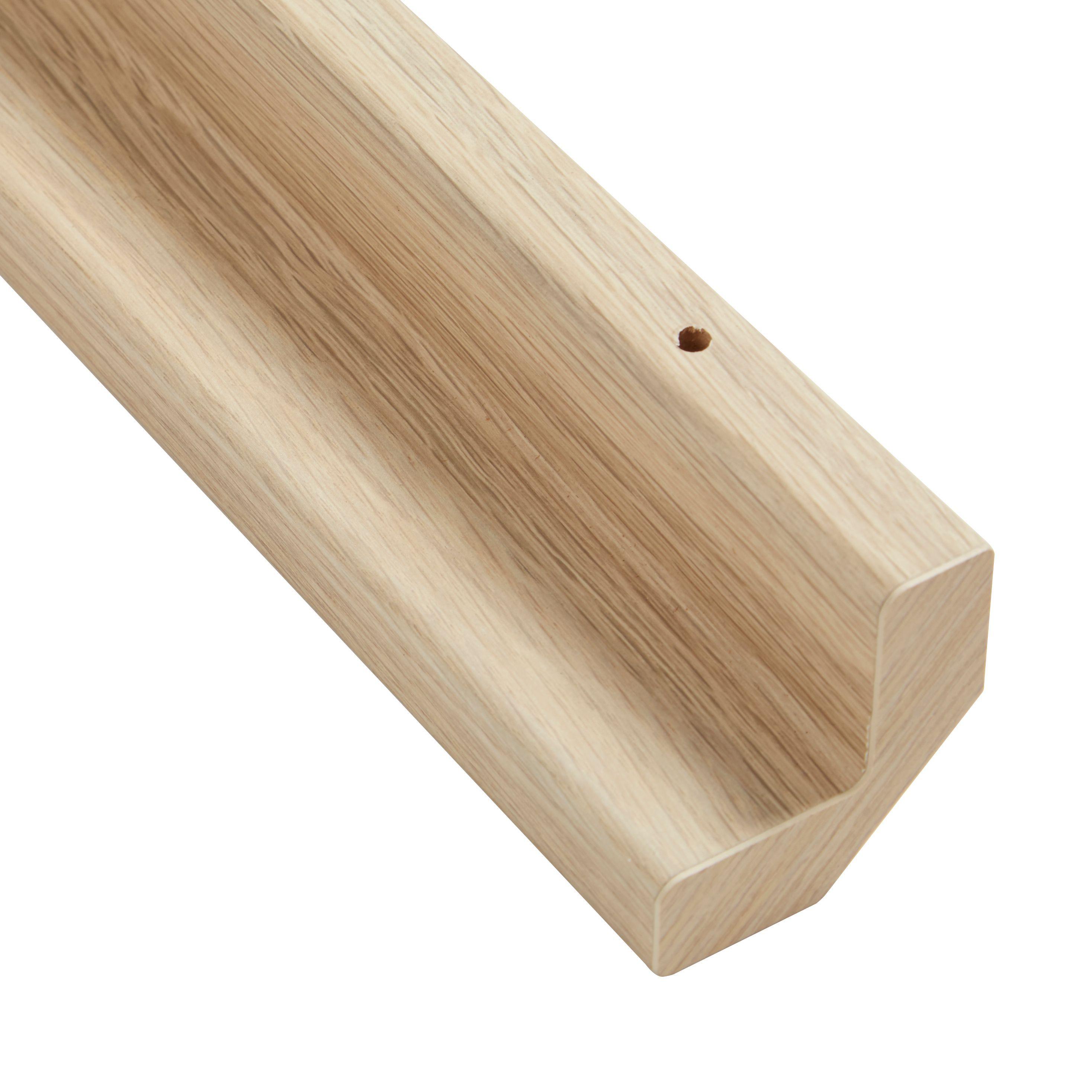 It Kitchens Oak Style Base Corner Post (h)715mm (w)32mm