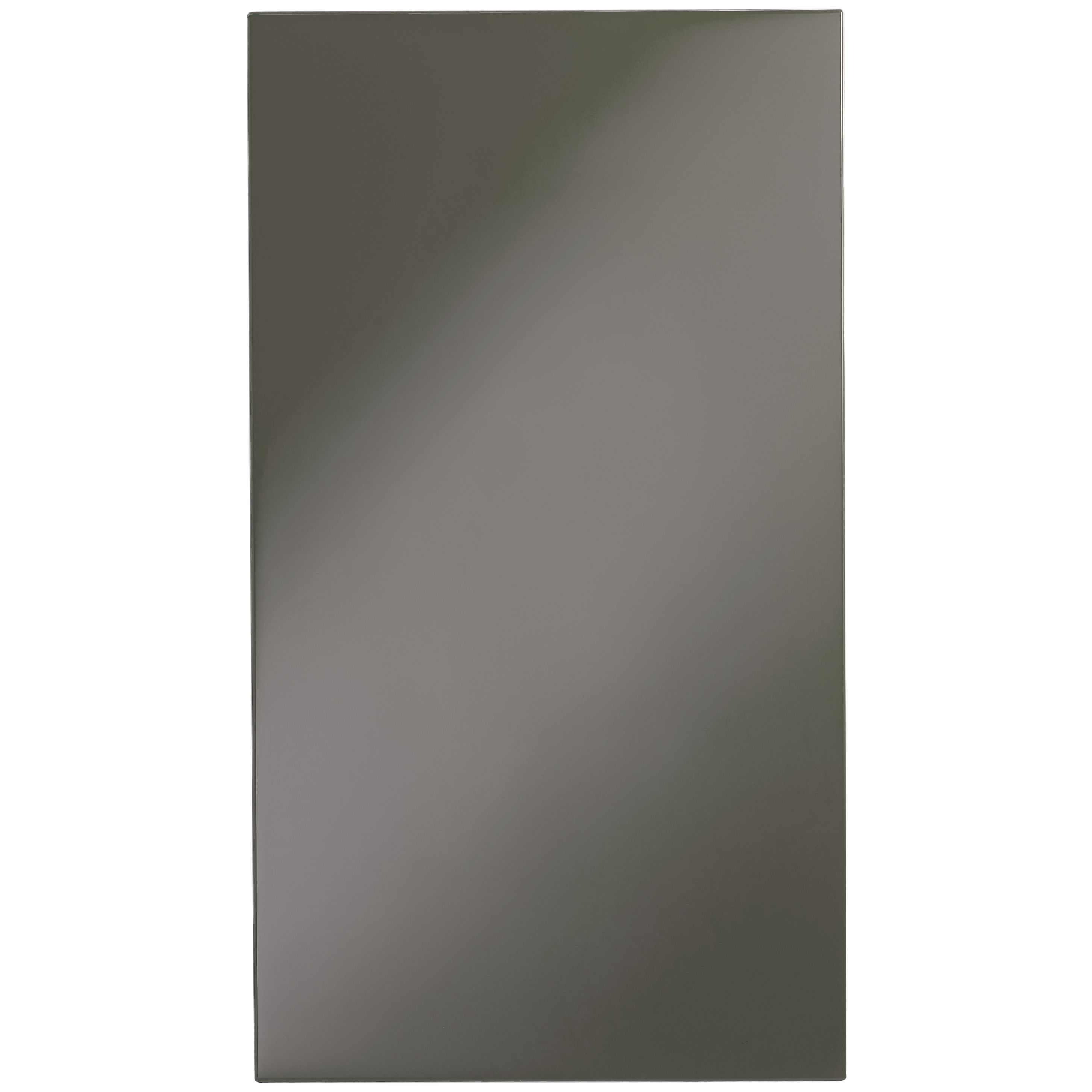 It Kitchens Santini Gloss Anthracite Slab Standard Door (w)400mm