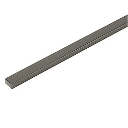 IT Kitchens Gloss Anthracite Wall Corner Post (H)715mm