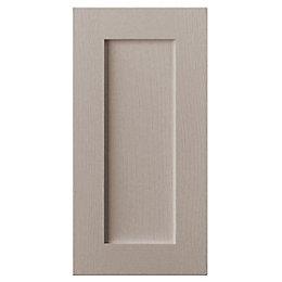 Cooke & Lewis Carisbrooke Taupe Standard Door (W)400mm