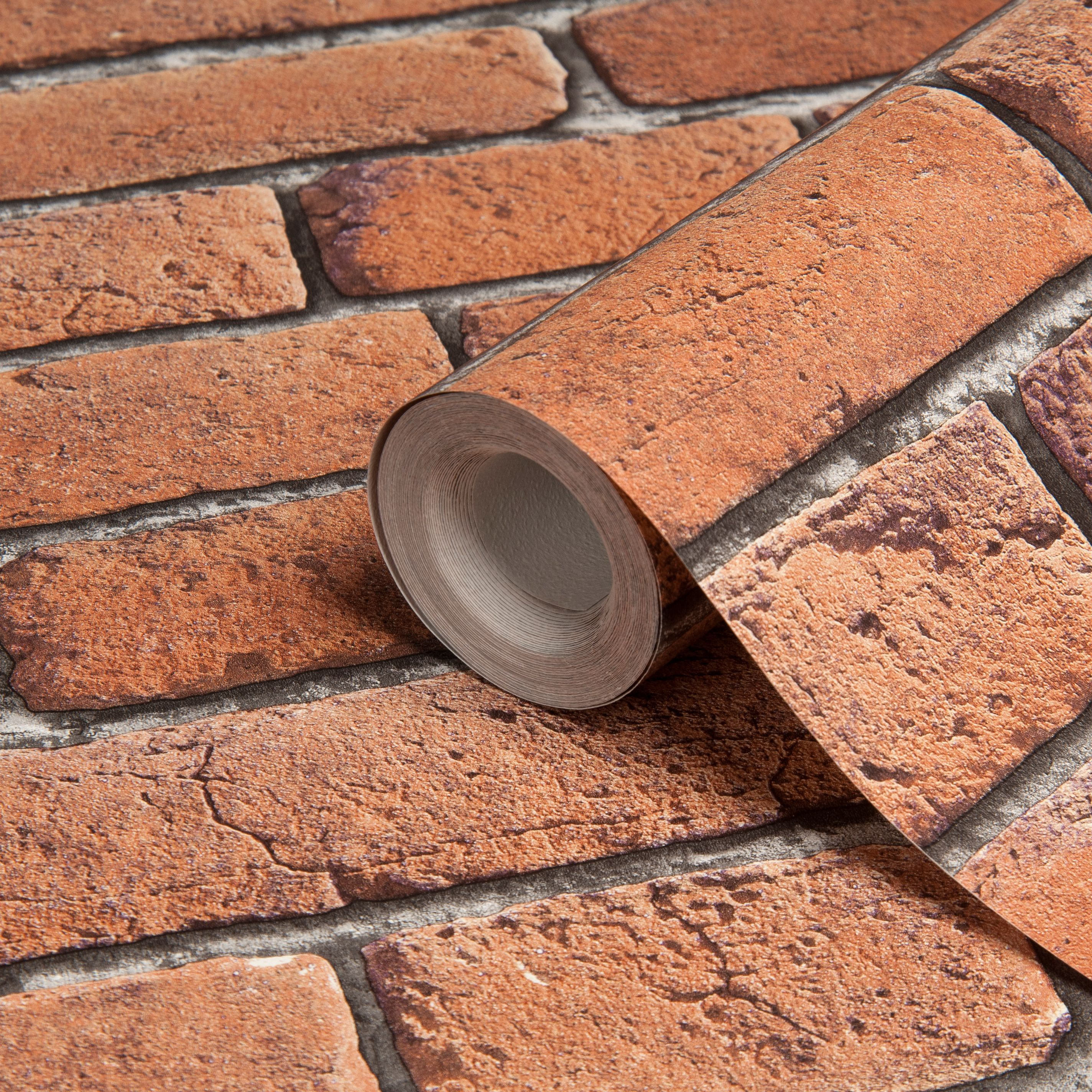 Red Brick Wallpaper Part - 21: Bu0026Q