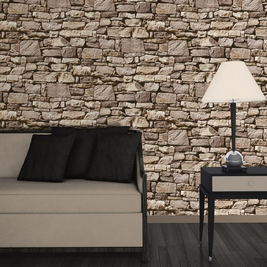 Cornish Stone Effect Wallpaper From B Q: Buyer's Guide To Wallpaper