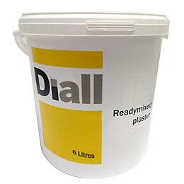 Diall Ready Mixed Plaster 6L