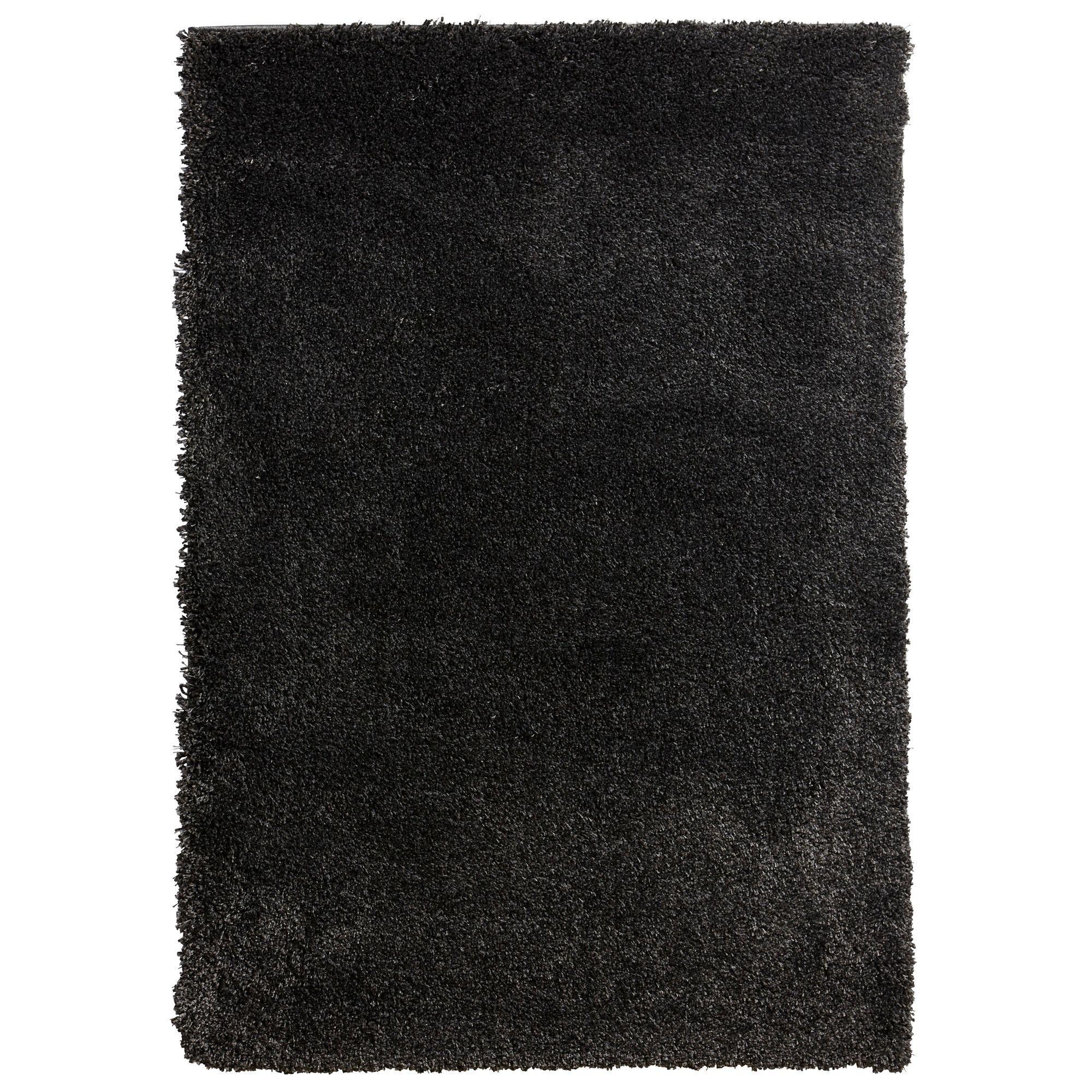 Colours Noelia Dark Grey Rug (l)1.7m (w)1.2m