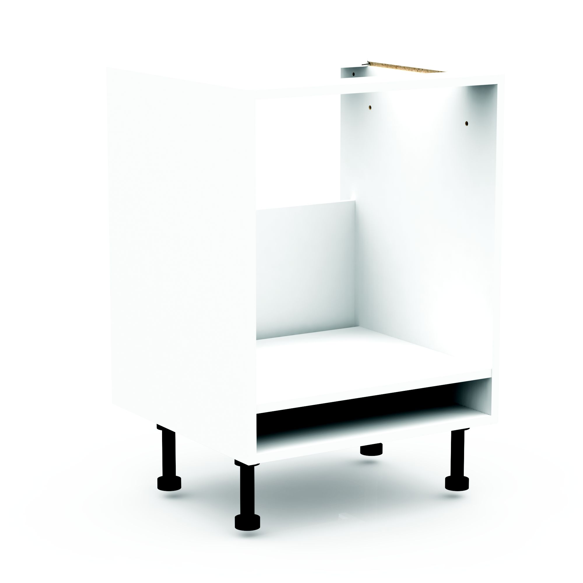 Cooke Lewis Clic White Oven Unit Carcass W 600mm