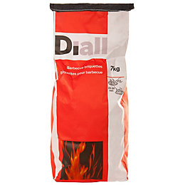Diall Charcoal Briquettes 7000G