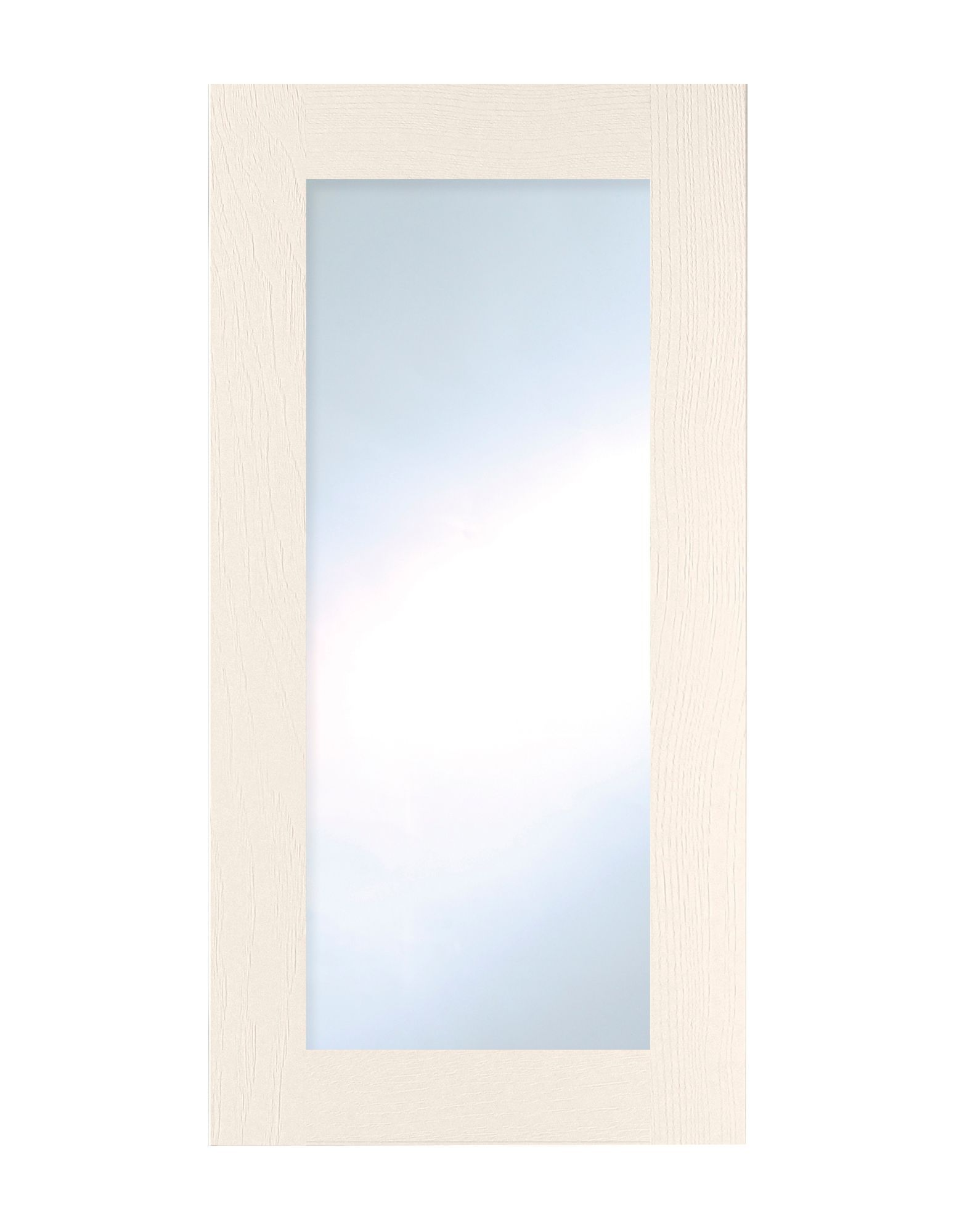 Cooke & Lewis Carisbrooke Ivory Tall Glazed Door (w)500mm