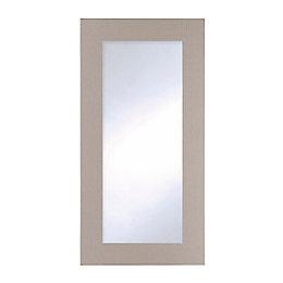 Cooke & Lewis Carisbrooke Taupe Tall Glazed Door