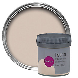 Colours Lauren Beige Matt Emulsion Paint 50ml Tester