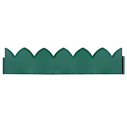 Verve Green Plastic Border Edging Pack of 5