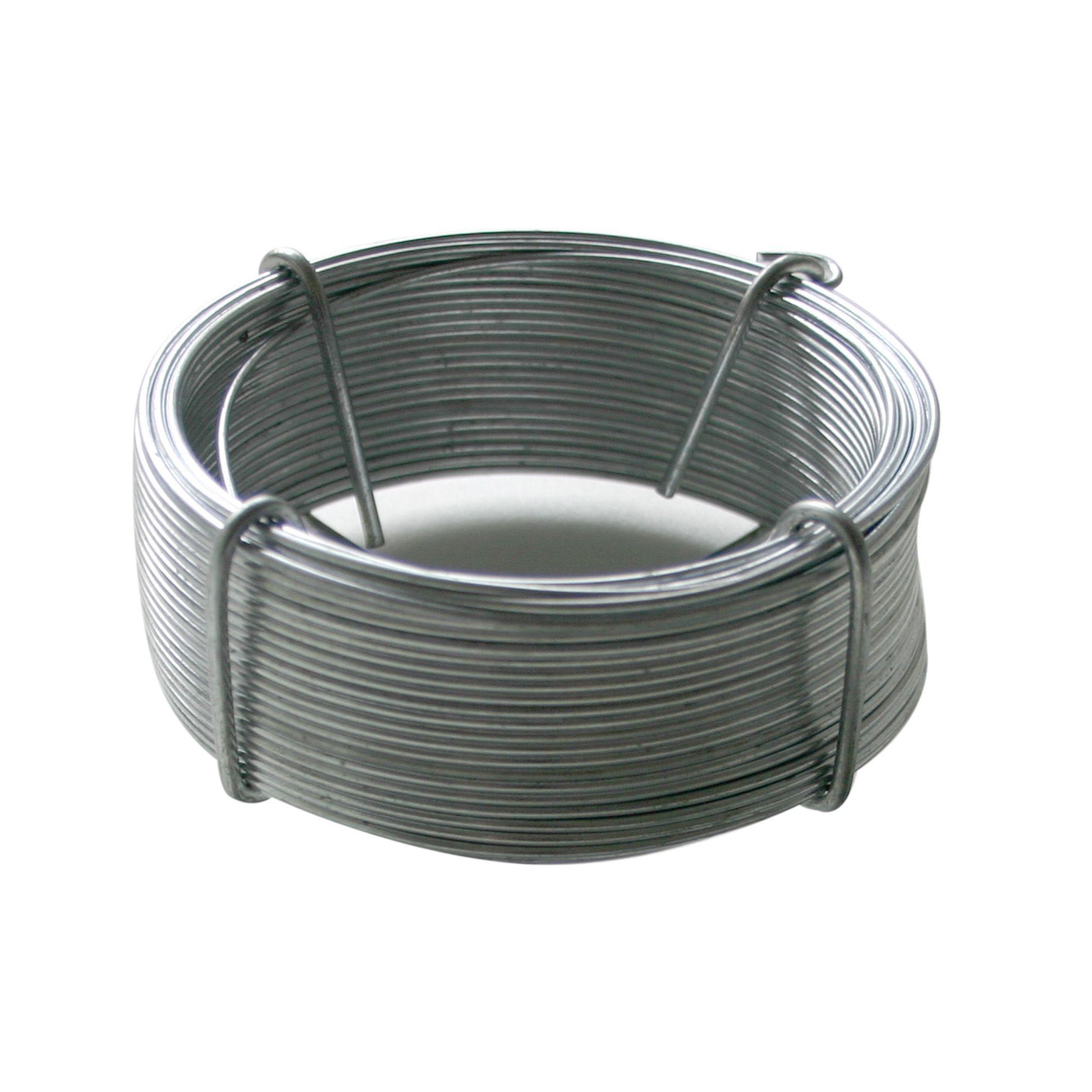 Gardman Galvanised Steel Garden Wire L50m Departments DIY at BQ