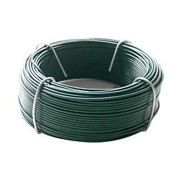 Gardman Plastic Coated Steel Garden Wire (L)50m (D)1.2mm