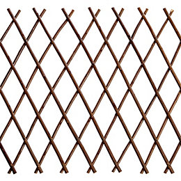 Expanding Willow Square Trellis Panel (H)1.5m (W)300mm