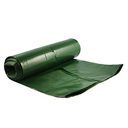 Verve Green Ldpe Garden Refuse Sack, Roll Of