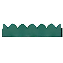 Verve Green Steel Border Edging Pack of 1