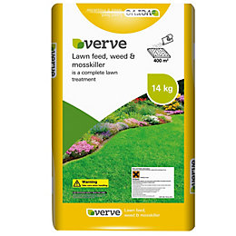 Verve Lawn Feed, Weed & Moss Killer 400