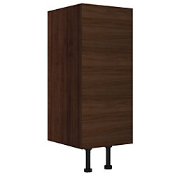 Cooke & Lewis Sorella Walnut Effect Narrow Base
