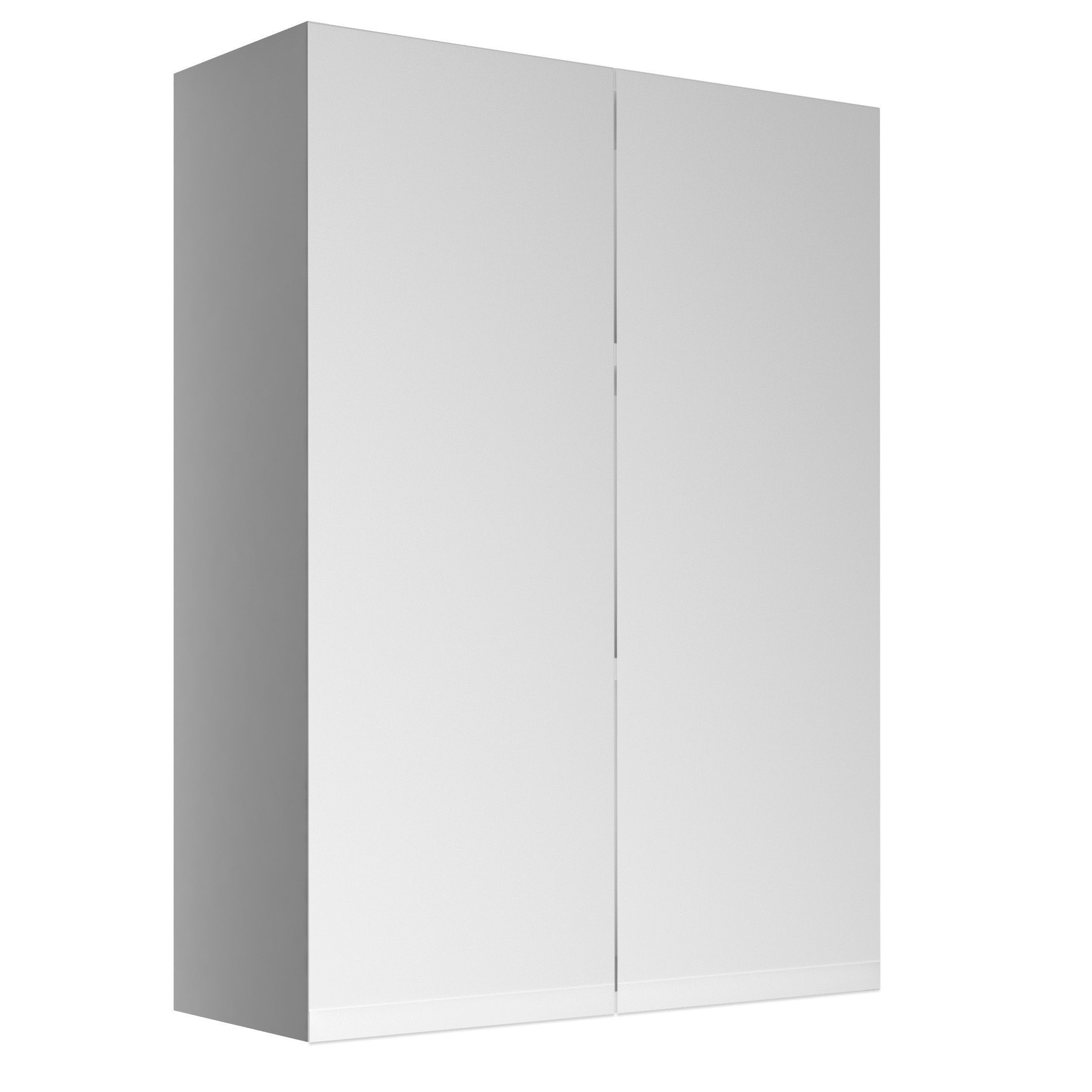 Cooke Lewis Marletti Gloss White Double Door Wall Cabinet W 600mm