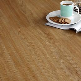 Colours Warm Oak Effect Luxury Vinyl Click Flooring