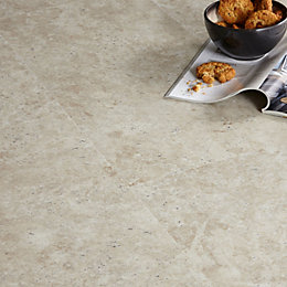 Colours Grey Limestone Effect Luxury Vinyl Click Flooring