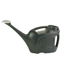 Verve Dark Green Plastic Watering Can 6L