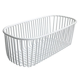 Cooke & Lewis White Kitchen Basket