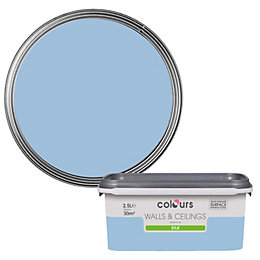 Colours China Blue Silk Emulsion Paint 2.5L