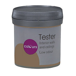 Colours Tester Wholemeal Beige Matt Emulsion Paint 0.05L