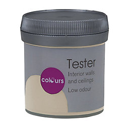 Colours Alfie Beige Matt Emulsion Paint 50ml Tester