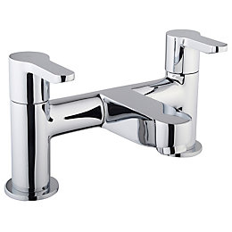 Cooke & Lewis Tahoe Chrome Bath Filler Tap