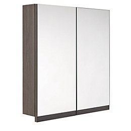 Cooke & Lewis Ardesio Double Door Bodega Grey