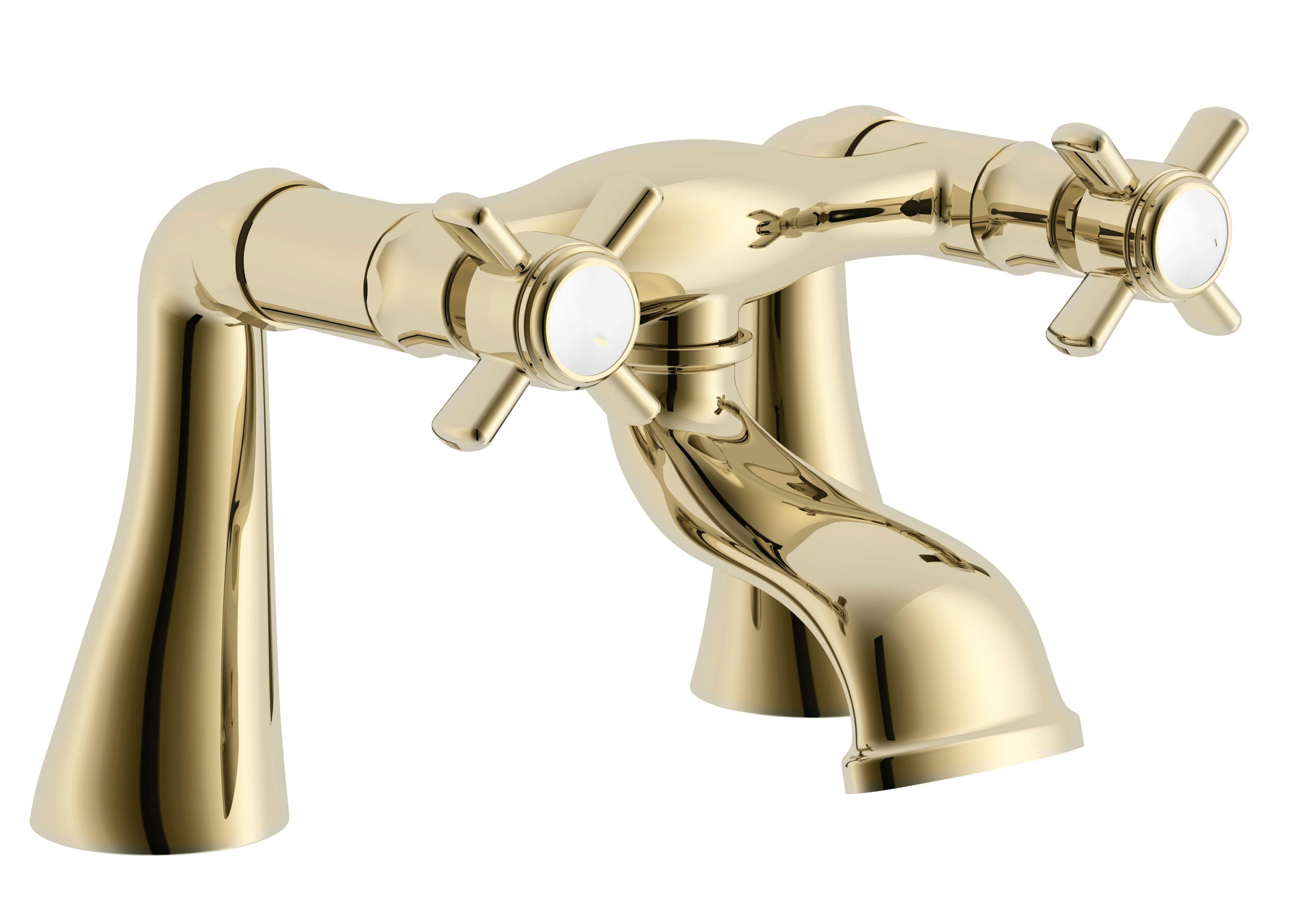 Cooke Amp Lewis Classic Gold Effect Bath Mixer Tap
