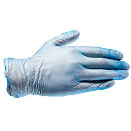 Diall Vinyl Disposable Gloves, Medium, Pack of 100