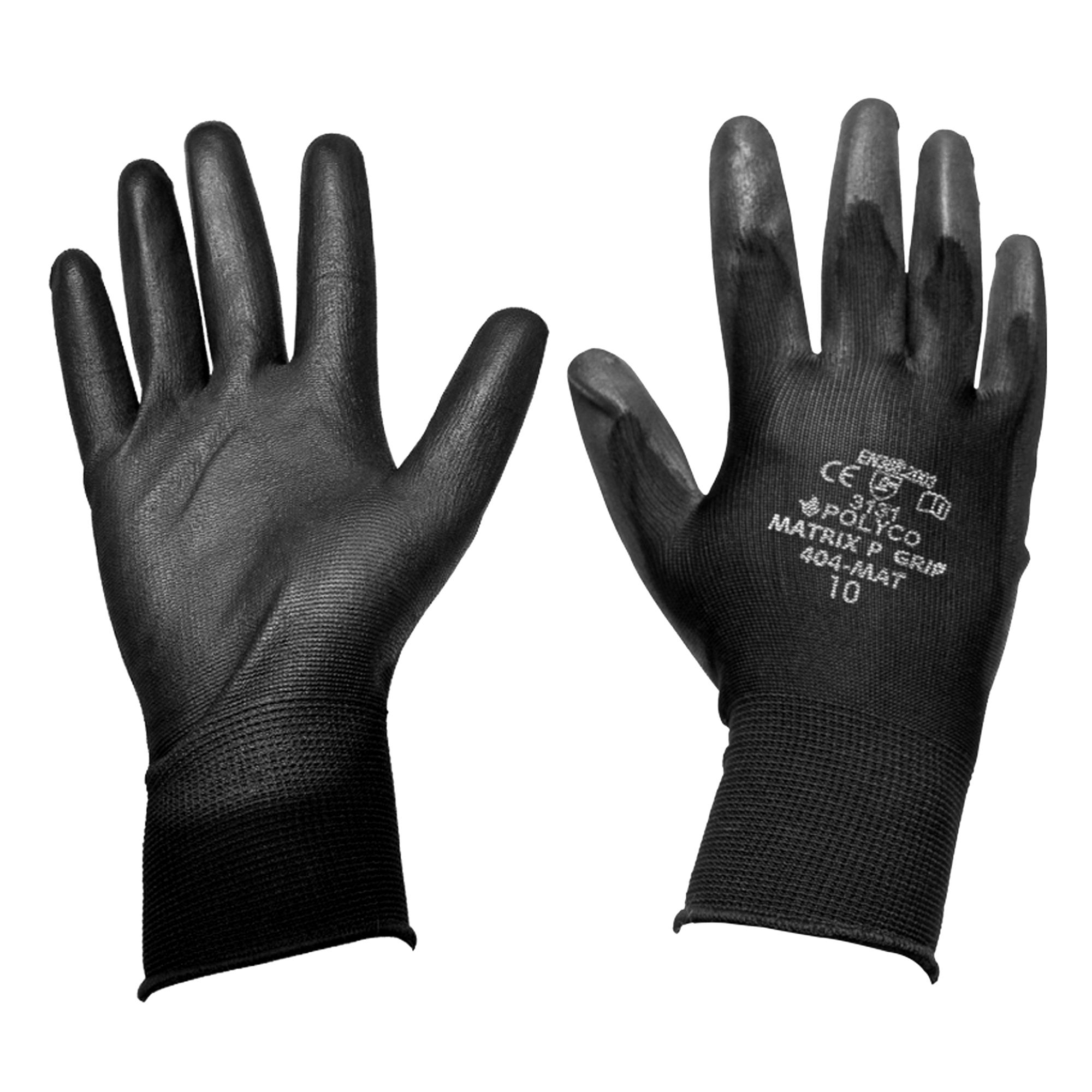 Black gardening gloves - Diall Gripper Gloves One Size Pair