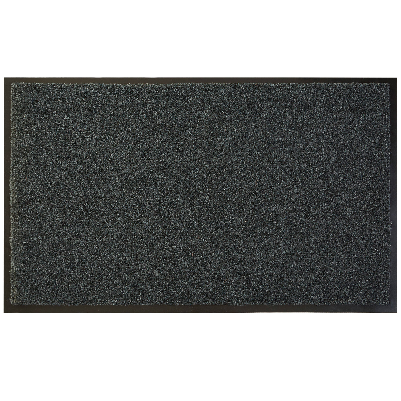 Diall Dark Grey Recycled Material Door Mat L 0 75m W