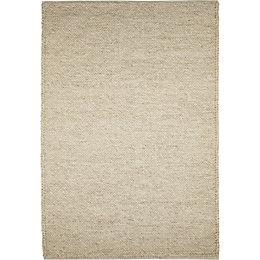 Colours Claudine Beige Thick Knit Rug (L)1.7m (W)1.2m