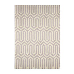 Colours Larissa Cream & Pink Rug (L)1.7M (W)1.2