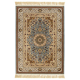 Colours Helina Beige & Blue Persian Rug (L)1.7M