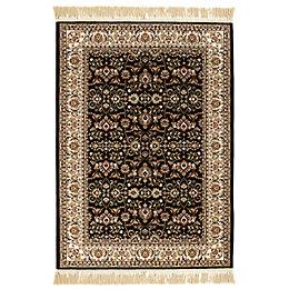 Colours Helina Beige & Black Persian Rug (L)2.3m