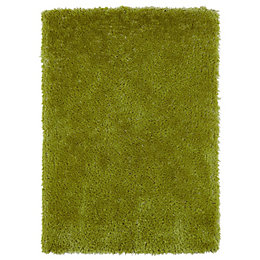 Colours Benita Green Rug (L)2.3m (W)1.6m