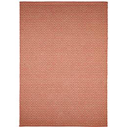 Colours Georgette Coral Rug (L)2.3m (W)1.6m